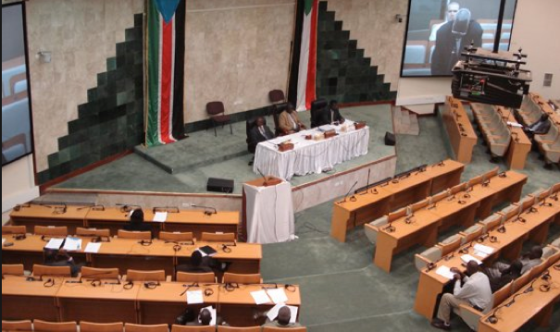 A poorly attended South Sudan legislative Assembly has passed a ultimatum to pasponed the general elections for upto July 9th, 2017(Photo: SSLA)