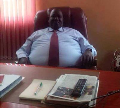 Tut Kew Gatluak, the advisor to president Salva Kiir (Photo:  Buay Malek)