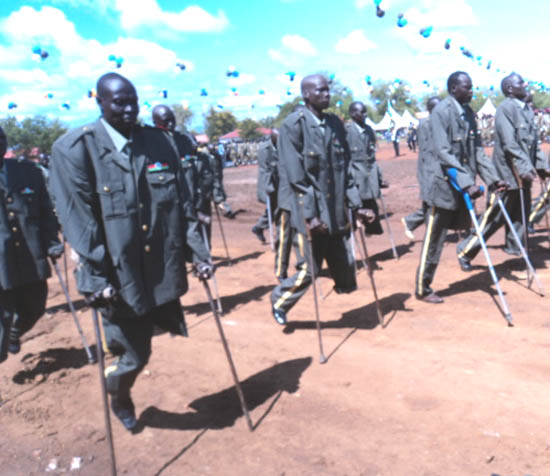 SPLA- Department of of wounded heroes (photo supplied)
