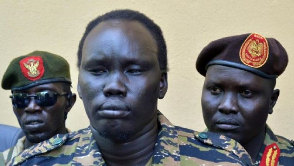 David Yau Yau, the leader of COBRA and his forces, after signing an agreement with Salva Kiir government(Photo: file)