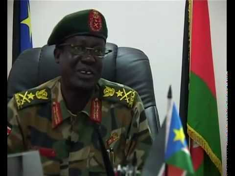Embattled General Gathoth Mai, the former SPLA Chief of General staff [photo: supplied]