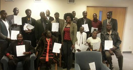 SPLM[IO] Mission in Canada, Calgary chapter(Photo: File/Nyamilepedia)