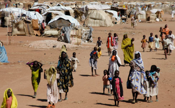 A camp for internally displaced people in Nyala, capital of South Darfur(Photo: file)