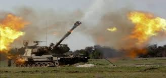 Photo shows Spla -Juba Tanks destroyed in Shelling combats (photo supplied)
