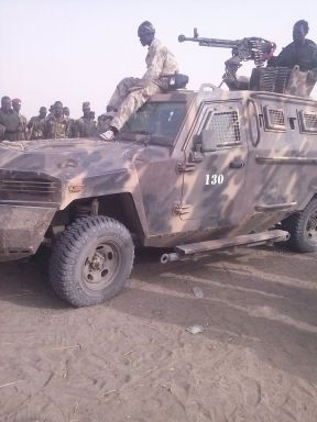 War Tank Captured today in Gabat by SPLA -IO