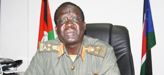 James Gathoth Mai, former Chief of General Staff, and the current Chairman of loyal Nuer Community in Juba(Photo: file)