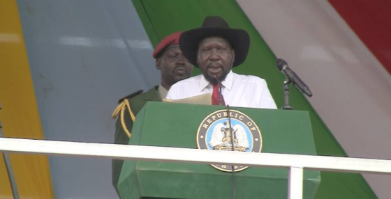 South Sudan president, Gen. Salva Kiir Mayardit(Photo: file)