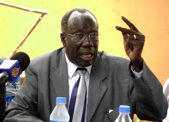 Lt. Gen. Alfred Ladu Gore D/ C-in-C SPLM/SPLA-IO (photo/supply)