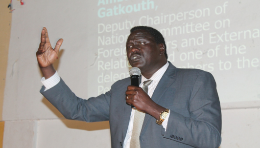 Amb. Lol Gatkuoth, SPLA/SPLM-IO Deputy Chairperson of National for Foreign Affairs and External Relations(Photo: supplied)
