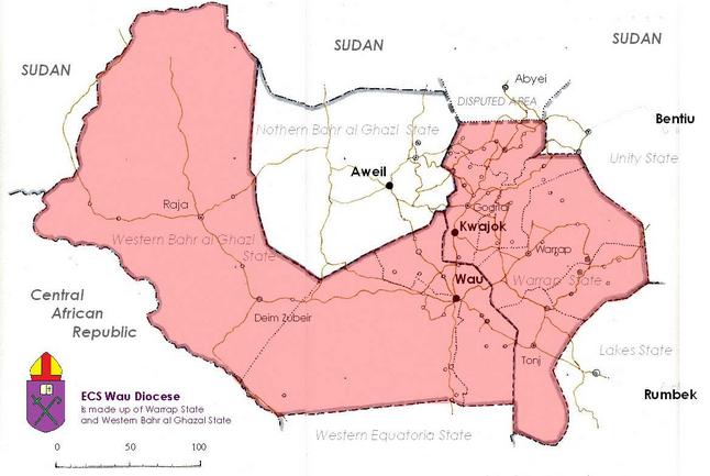 Mapp Via ECS, Dioces Of Wau...