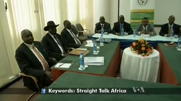 South Sudanese delegates at the last peace talks in March, 2015, in Addis Ababa, Ethiopia(Photo: VOA)