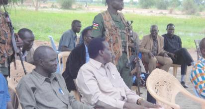 Joseph Nguen Monytuil, the caretaker of Unity State(Photo: file)