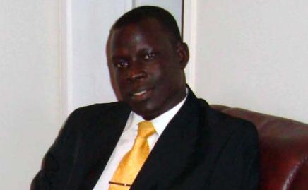 Dr. James Okuk, a member of SPLM-DC party (Photo: file)