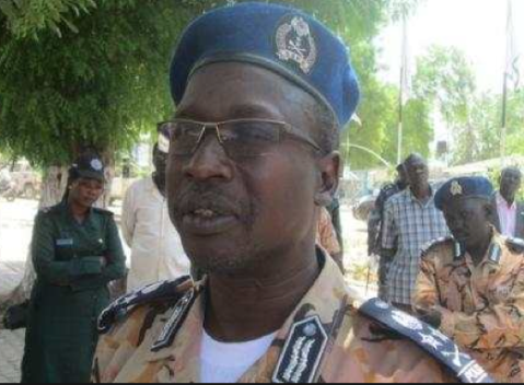 South Sudan Inspector General of Police (IGP) General Pieng Deng Kuol in Bor. (Photo credits: Jacob Achiek Jok)
