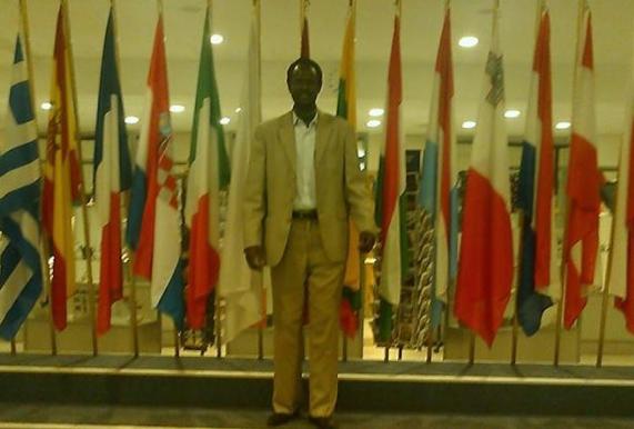 Counsel Kwajien Wechtuor, the new SPLM-IO representative to Germany(Photo: profile)