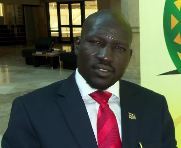 Cde Yohanis Musa Pouk, the appointed representative of SPLM/SPLA-IO to State of Qatar(Photo: file)