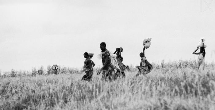 South Sudanese women in 1991 by Eliza Deacon...