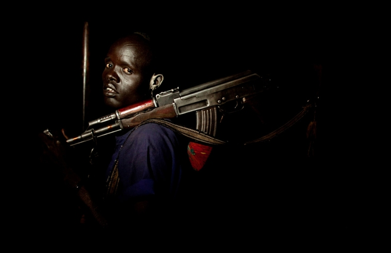A member of Dinka Padang white army aka Abuchiok(Photo: file)
