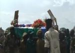 Andrew Wieu Riak's funeral in Baliet County, Upper Nile state, South Sudan(Photo: Nyamilepedia)