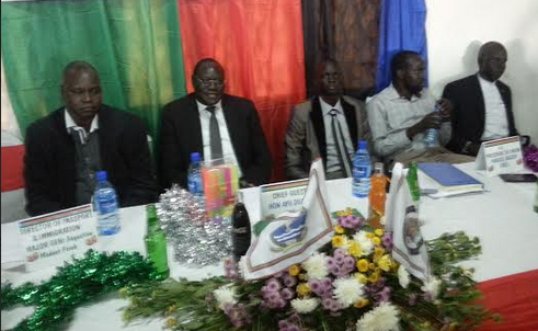 South Sudanese students association in Uganda  celebrate