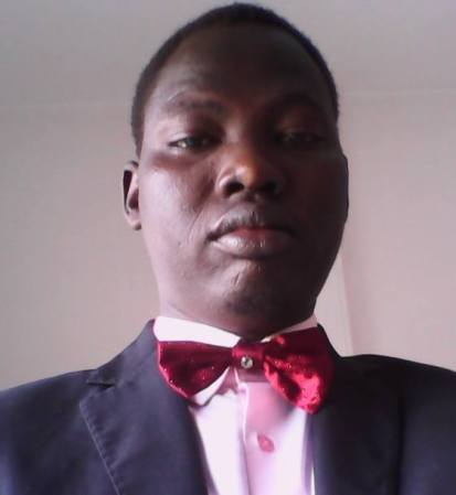 Cde. Sirir Gabriel Yiei Rut Chairperson of SPLM Youth League Chapter in Egypt and editor at Nyamilepedia website