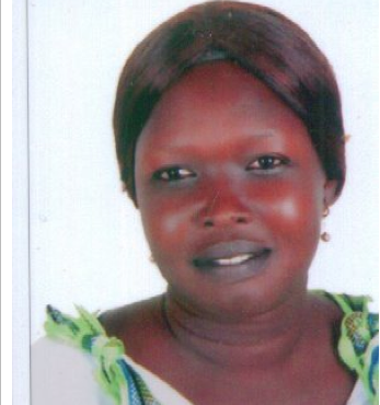 Elizabeth Nyakong Simon the current Chairperson of Nuer Woman association in Egypt...