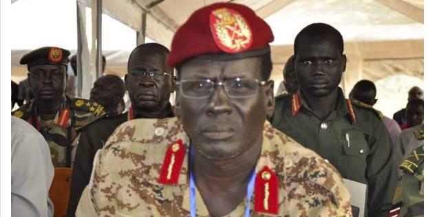 Peter Gatdet Yaka, the Deputy Chief of Staff for Operation, SPLM/SPLA-IO(Photo: Nyamilepedia)