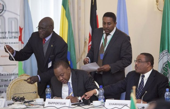 The IGAD Heads of states and government holding the 27th Extraordinary Summit on South Sudan in Addis Ababa, Ethiopia.(Photo: file)