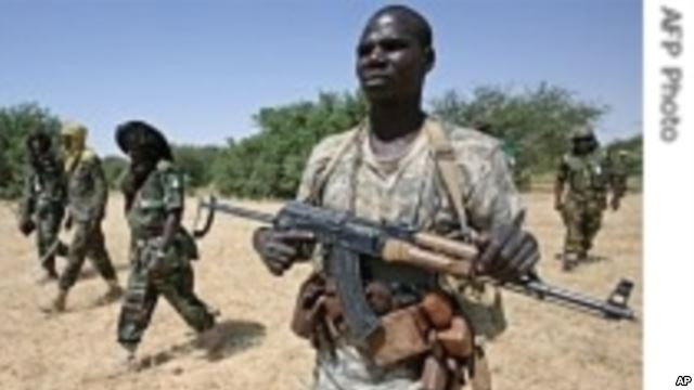 Members of Justice and Inequality Movement defending South Sudan's Pariang County from South Sudan's SPLA -in Opposition(Photo:  Via VOA)