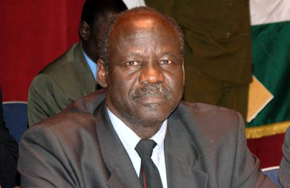 Dr. Lam Akol, the chairman of SPLM-DC, who serves house arrest in Juba, South Sudan(Photo: file)