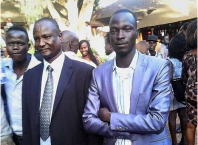 Lam Chuol Bangoang(right) and Gen. Taban Deng (Left)(Photo: file)