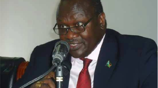 Dr. Riek Machar Teny, the first vice preisdent of South Sudan who returns to bush to fight for democracy after Self-determination(Photo: file)