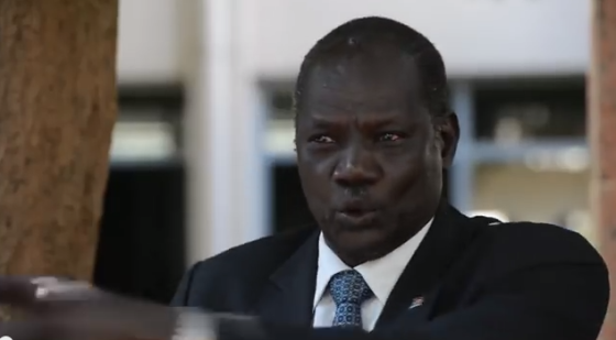 Michael Makuei Lueth, the Government Spokesman and the Minister of Information in Salva Kiir's regime(Photo: file)