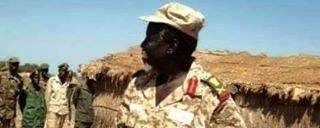 A South Sudanese General addressing a militia in Upper Nile State...