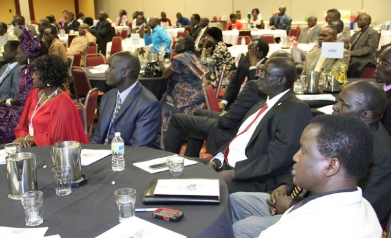 South Sudanese and friends attending the SSRRA Conference in Omaha, Nebraska(Photo: file)