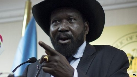 Salva Kiir Mayardit, the incumbent President of South Sudan who has struggled to maintain power after an internal disputes within his ruling party (Photo: file)