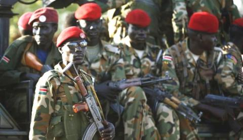 Government troops fight among themselves in Upper Nile State diving into governor's and Olony's factions(Photo: file)