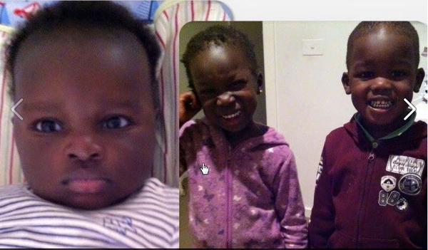 A one-year-old boy named Bol and his twon sister and brother named Anger and Madit died after 4WD car crashed into Lake Manor in Wyndan Vale, Australia(Photo credits: Fairfax media)