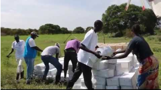 World Food Program dropping Food in South Sudan(Photo: file)