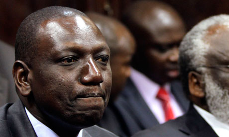Kenya's deputy president, William Ruto at ICC trial(Photo: Noor Khamis/Reuters )