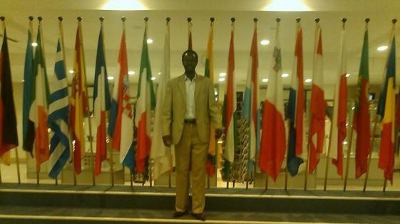 Cde. Kuajien Lual Wectuor SPLM/A representive in Germany