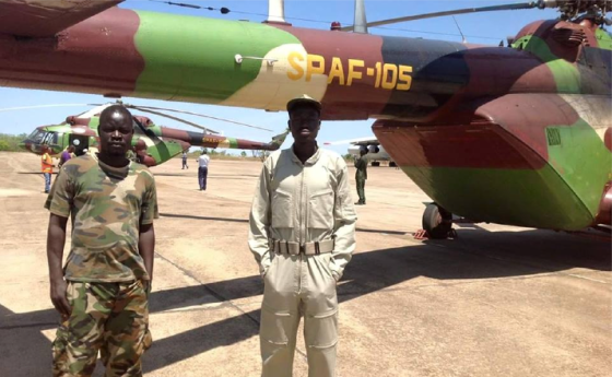 Chopper-South Sudan