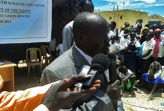 Former Commissioner and Minister of Education, Gai Jock Deang, calls for humanitarian assistance in the county(Photo: file)