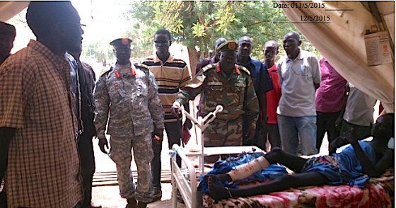 Gen. Gathoth Gatkuoth Hothnyang, the deputy commander in chief for logic, SPLM/SPLA (Photo: Nyamilepedia)