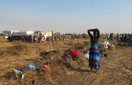 Displaced civil population in Unity State seeking protection and humanitarian assistance(Photo: file)