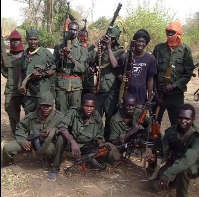 South Sudan rebels  somewhere in Warrap State(Photo: file)