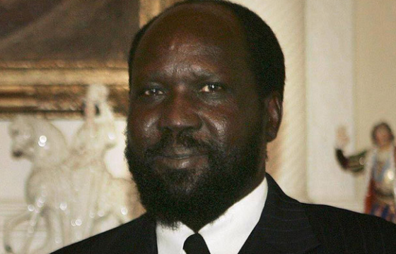 The allegedly sick president Salva Kiir Mayardit of South Sudan, government allied rebel claims(Photo: file)