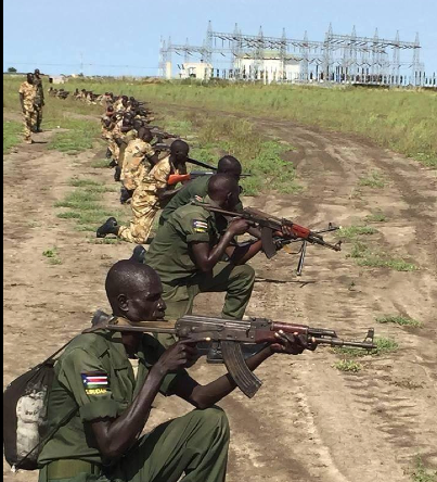 Forces of SPLA In Opposition closing in on the main oil fields in the country(Photo: supplied/Nyamilepedia)