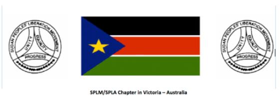 SPLM-SPLA Australia Revolutionary Salutation