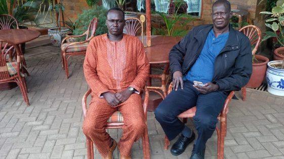 Amb. Gordon Buay Malek and Bapiny Monytuil